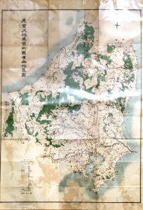 古地図「東京大林區管内國有林位置図」