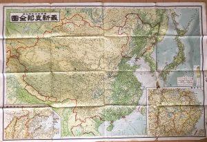 古地図「支那全図」